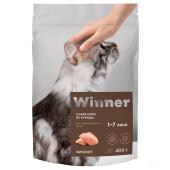 Корм для кошек Winner 400г для стерилизованных кошек из курицы