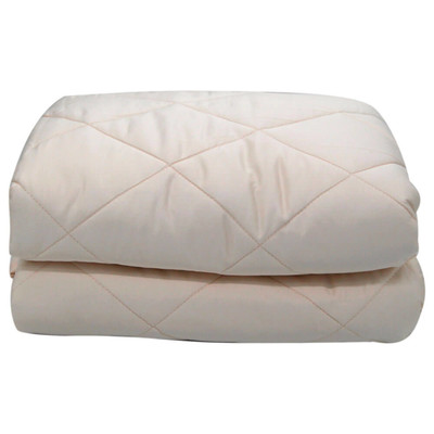 Одеяло Save&Soft стеганое тяжелое 5,4кг кремовый 193*203см