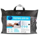 Подушка Save&Soft big cloud для сна 60*40*12/10 см черная сумка из нетканного материала