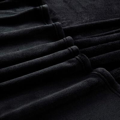 Плед Save&Soft черный 185*200см fт025