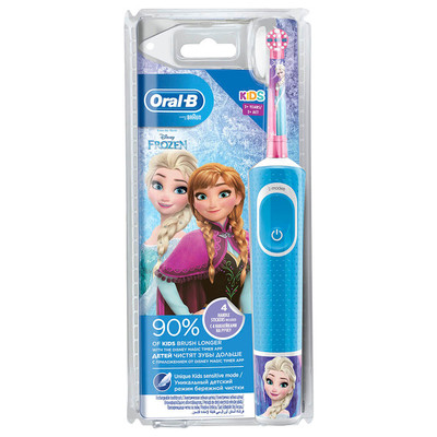 ORAL_B Электрическая зубная щетка холодное сердце детская 3+