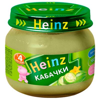 Пюре Heinz 160г кабачки с 4 месяцев