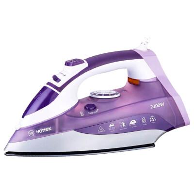 Утюг Hottek HT 955-001 керамическая подошва фиолетовый