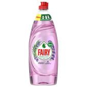 Средство для мытья посуды Fairy 650мл пьюр энд лаванда и розмарин