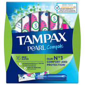 Тампоны Tampax 16шт перл компакт супер с аппликатором