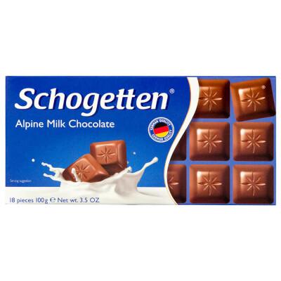 Шоколад Schogetten 100г молочный