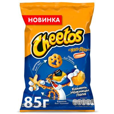 Кукурузные палочки Cheetos 85г хот-дог