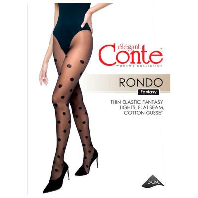 Колготки женские Conte elegant рондо неро р.2