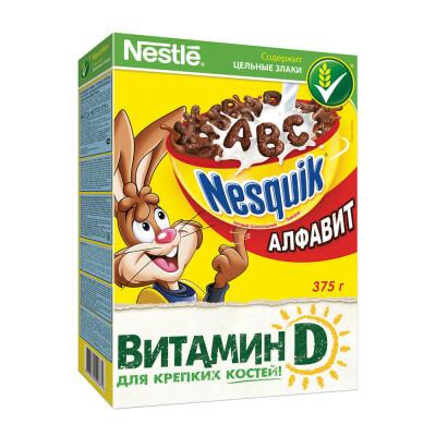 Готовый завтрак Nesquik 375г алфавит Nestle