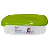 Емкость для СВЧ 4,85л Giaretti Bono прямоугольник оливковая роща gr2224ол