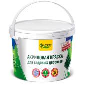 Краска для садовых деревьев Фаско 1,2кг