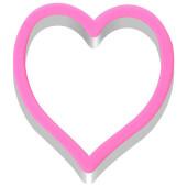 Форма сердце 10*10,5*4,5см кулинарная МультиДом an8-41