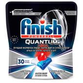 Таблетки для посудомоечных машин Finish Quantum 30шт