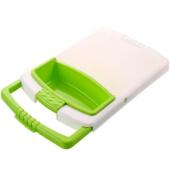 Подставка на раковину–дуршлаг 3в1 Ecoco зеленый