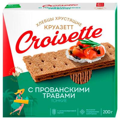 Хлебцы Croisette 200г ржано пшеничные с прованскими травами