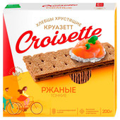 Хлебцы Croisette 200г ржаные тонкие
