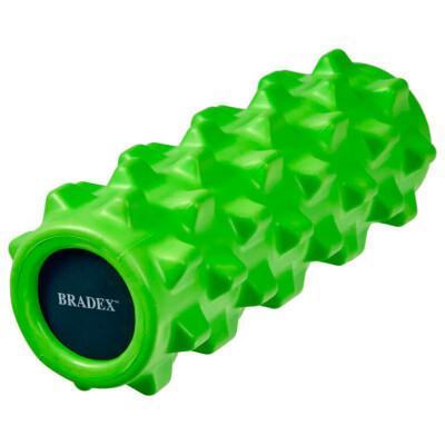 Валик для фитнеса Bradex массажный зеленый sf 0247