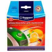 Ароматизатор для пылесосов Topperr 10шт лимон