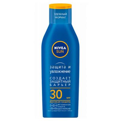 Лосьон солнцезащитный Nivea Sun 100мл защита и увлажнение сзф 30