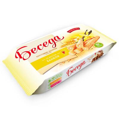 Палочки Хрустящие беседа со вкусом ванили 180г Essen