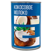Кокосовое молоко Европа 400мл ж/б
