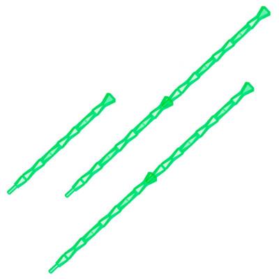 Держатель д/орхидеи диамант с клипсами зеленый флюр техоснастка пи-17-6тх