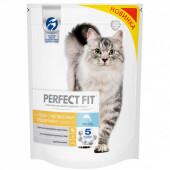 Корм для кошек Perfect Fit 650г для кошек с чувствительным пищеварением лосось
