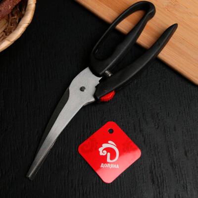 Ножницы кухонные для мяса/рыбы Доляна туман 23см 580371