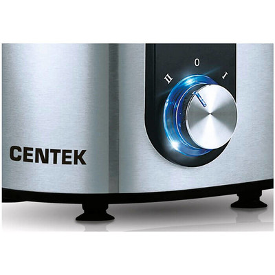 Соковыжималка Centek CT-1212 черный сталь