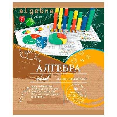 Тетрадь Профит 36л клетка ЭКО-серия алгебра 36-6314