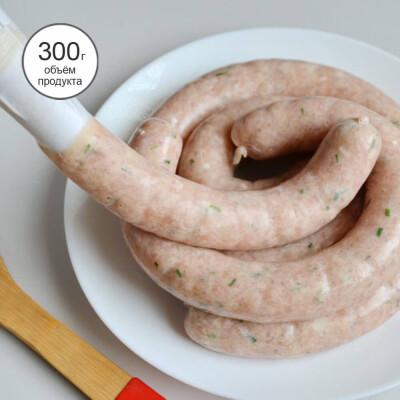 Шприц-пресс ручной для колбасы ТутПросто 20*14,4см белый uslj0502