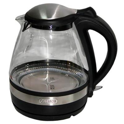 Чайник Energy e-250 стекло черный