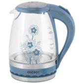 Чайник Energy e-279 синий стекло
