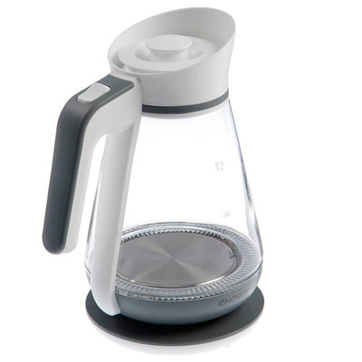 Чайник Energy e-297 стекло бело серый