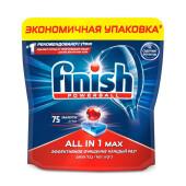 Таблетки для посудомоечных машин Finish 75шт все в 1