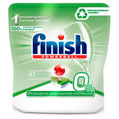 Таблетки для посудомоечных машин Finish 42шт бесфосфатные