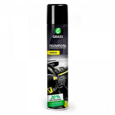 Полироль очиститель пластика Grass лимон 750мл