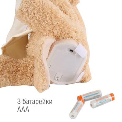 Игрушка мягкая Huada Медведь 26см звук