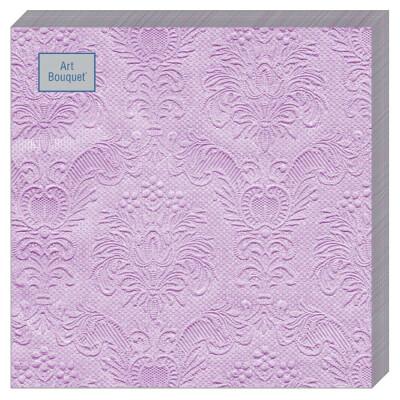 Салфетки Art Bouquet 16шт 33*33см 3 слоя барокко лиловый