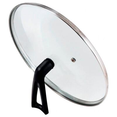 Крышка стеклянная 22см Mallony Vetro-Special г-тип бекелитовая ручка 987032