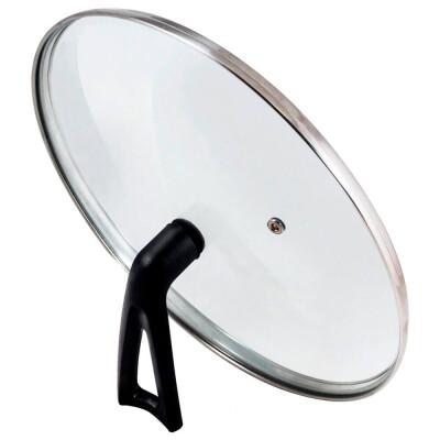 Крышка стеклянная 28см Mallony Vetro-Special г-тип бекелитовая ручка 987035