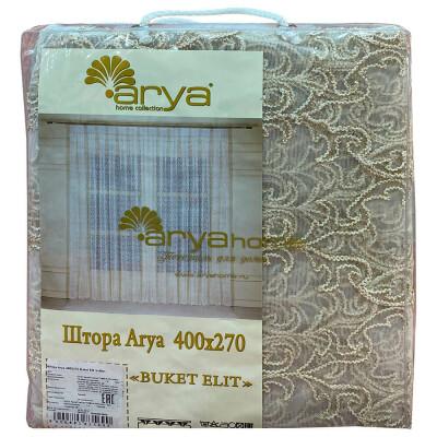Штора-тюль Ария 400x270 буке элит белый