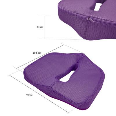 Подушка Save&Soft Soft Land purple для сидения 45 *38*13/7см фиолетовый