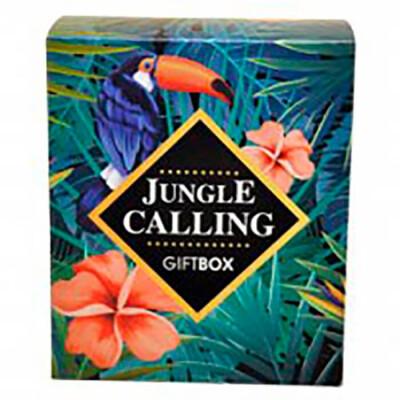 Набор подарочный JUNGLE CALLING тропические джунгли гель для душа 200мл+пена для ванн 200мл