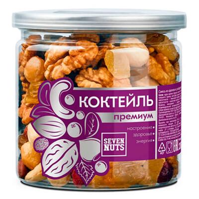 Орехово-фруктовый коктейль Seven Nuts банка 200г премиум