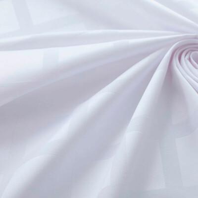 Скатерть Этель геометрия150*250см белый водоотталкивающая