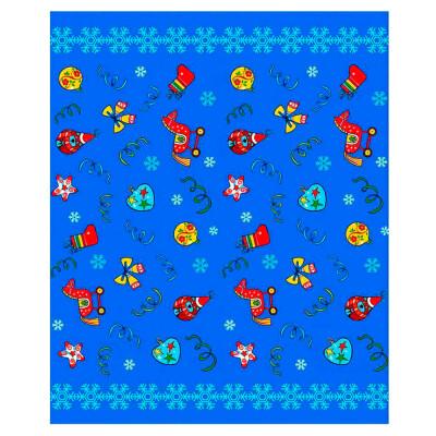Скатерть новогодние шары 125*148см
