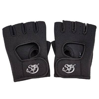 Перчатки Save&Soft черный размер M n8818