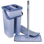 Ведро со шваброй Scratch Cleaning Vop 3,3 л голубое