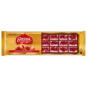 Шоколад Россия Золотая марка 140г молочный с клубникой Nestle